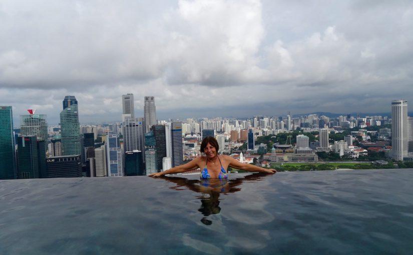 Glück und Pech am Infinity-Pool